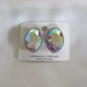 New Clip on Earrings -Large AB